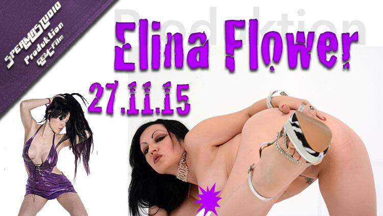 Gangbang-Produktion Elina Flowers am 27.11.15