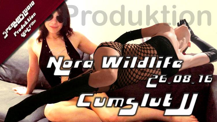 Nora Wildlife und Cumslut JJ am 26.08.16